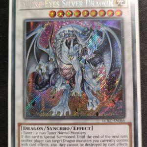 Azure- Eyes Silver Dragon Secret Rare