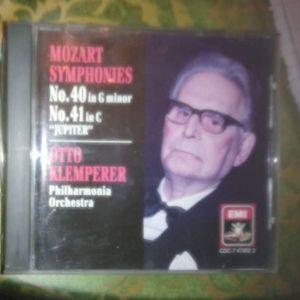 OTO KLEMPERER-MOZART SYMPHONIES-NO 40 IN G MINOR-NO 41 IN C JUPITER