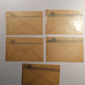 5 φάκελοι ΟΤΕ αχρησιμοποίητοι