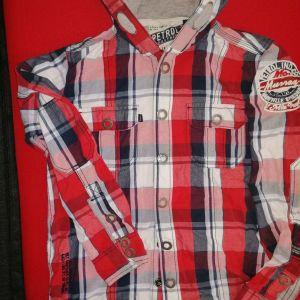 Φούτερ - πουκάμισο για αγόρι