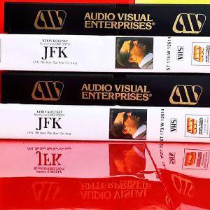 JFK - The Director's Cut (2 VHS Αυθεντικές)