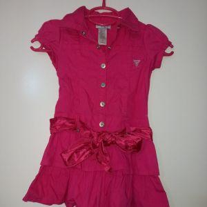 Φορεματάκι φούξια 4 χρονών GUESS