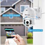 Ip Camera ρομποτικη Αδιαβροχη WiFi