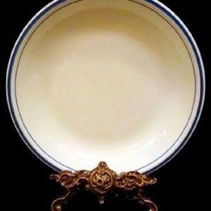 Παλαιό κεραμικό πιάτο σούπας. CERAMICA OLYMPIA. S.A.