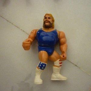 φιγούρα Hacksaw Jim Duggan blue γίγαντες του κατς WWF