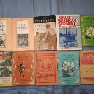 Βιβλία στην αγγλική γλώσσα.