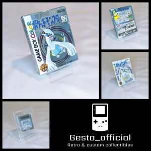 Pokemon Silver Japanese Version Complete (Box, manual, Cartridge Tray & Case) Used Gesto_official
