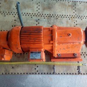 Bauer G12-11/DPK8122-200-SG ΜΟΤΕΡ ΜΕ ΜΕΙΩΤΗΡΑ ΚΑΙ ΦΡΕΝΟ 35 στροφές στο μοτέρ / 1 στον μειωτήρα