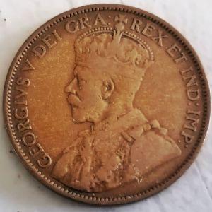 1 cent Canada 1912