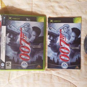Πωλείται το James Bond 007 Everything or Nothing για Xbox original