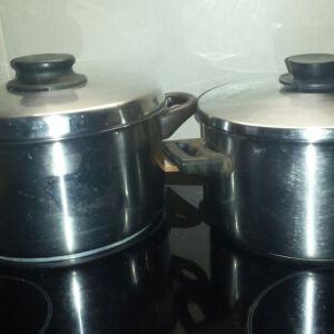 BEST κατσαρόλες Inox 26cm και 23cm