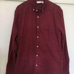 Asos Design red shirt.