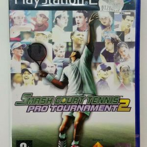 SMASH COURT TENNIS PRO TOURNAMENT 2 PS2 PLAYSTATION 2 TWO VIDEO GAME PAL