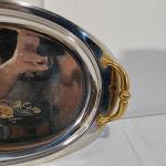 Ανοξείδωτος δίσκος μπρούτζινος με χέρια, εποχής 2000