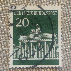 Γερμανικό γραμματόσημο του 1966
