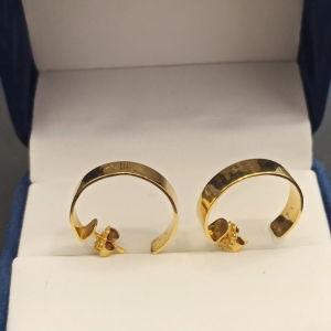 χρυσά σκουλαρικια 14Κ