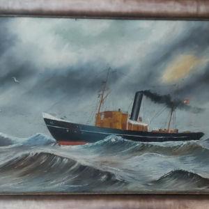 Πίνακας,Θαλασσα