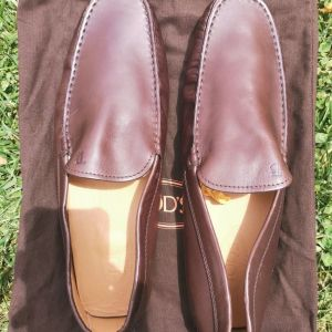 TODS Brown Leather Shoes No.11