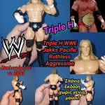 Triple H HHH WWE Jakks Pacific 2003 Ruthless Aggression wrestling action figure Φιγούρα Παλαιστή αυθεντική