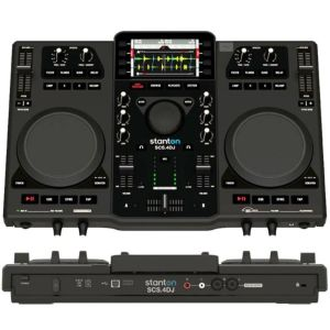Stanton SCS 4DJ MIXSTATION controller + fully integrated computer