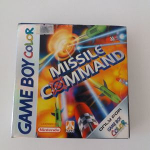 MISSILE COMMAND(GAME BOY COLOR)