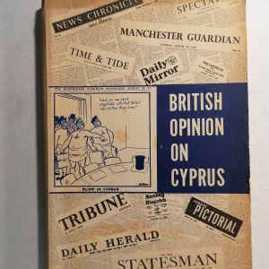 BRITISH OPINION ON CYPRUS (στην Αγγλική γλώσσα)