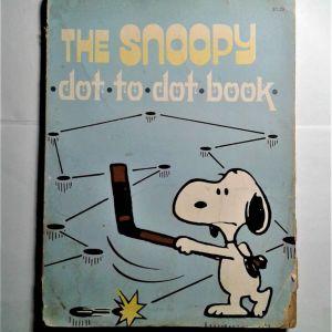 Παιδικά Βιβλία.  THE SNOOPY. DOT. TO. DOT.BOOK. 1979