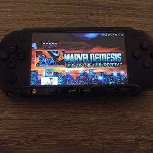 PSP 4GB MEMORY + GAMES