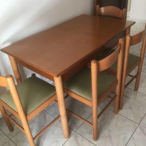 Τραπέζι + 4 καρέκλες