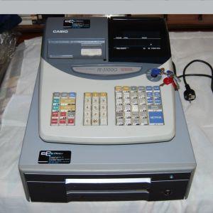 Ταμειακή Μηχανή Casio FE-5100G, με Συρτάρι