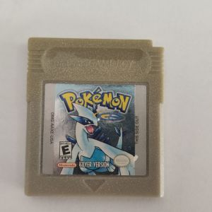 ORIGINAL AUTHENTIC Pokemon Silver Version (Save New Battery) Game Boy Color