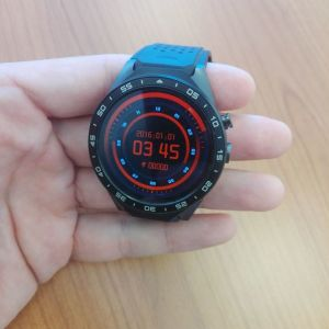 KingWear KW88 3G Smartwatch Phone - Black, αφόρετο, σχεδόν καινούργιο.