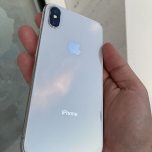 iPhone X 64gb silver, άψογο με καινούργια μπαταρία