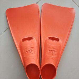 Βατραχοπέδιλα Ocean Καουτσούκ Πορτοκαλί Νο 36-37 για κολυμβητήριο