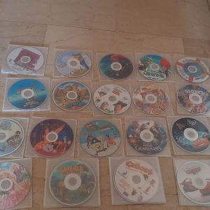 Πωλουνται 40 παιδικες ταινιες σε dvd