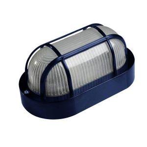 Καραβοχελώνα πλαστική σε μπλε χρώμα και ντουί Ε27 max 40W στεγανή IP44 18.5x11x9cm