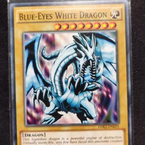 Blue Eyes White Dragon common