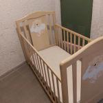 Κρεβατάκι παιδικό κούνια