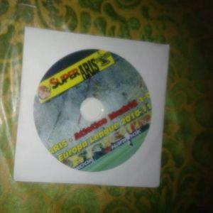 DVD ΑΡΗΣ-ΑΤΛΕΤΙΚΟ ΜΑΔΡΙΤΗΣ 1-0 EUROPA LEAGUE 2010-2011
