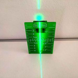 Μαγνητικός στόχος υψηλής ποιότητας για αλφάδια λέιζερ πράσινη δεσμη