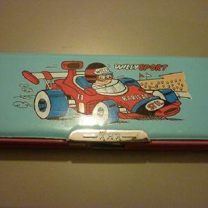 παλιά παιδική κασετίνα Willy Sport '80ς