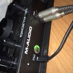 Κάρτα ηχου M Audio