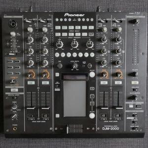 Pioneer DJM 2000 Mixer + Thon Flight Case