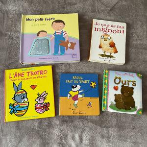 γαλλικά παιδικά  βιβλια από 3 ετών