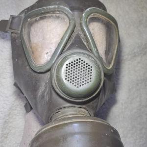 συλλεκτική μασκα αερίων  USA.αμερικάνικη μάσκα εποχής 1940  +