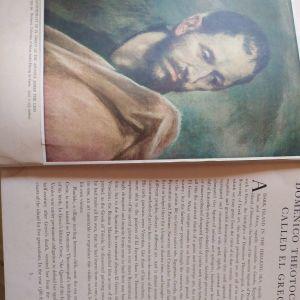 Βιβλίο εργογραφια Ελ Γκρέκο 1938