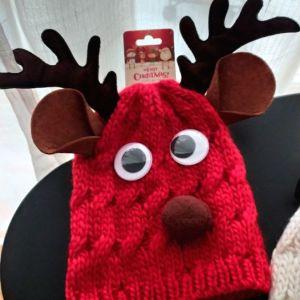 Σκουφάκια χριστουγεννιάτικα για παιδάκια
