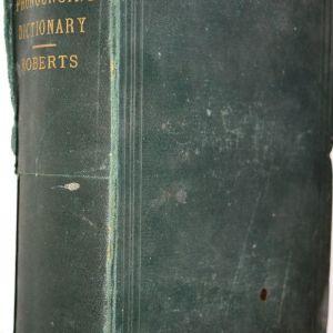 Dizionario Italiano-Inglese e Inglese-Italiano - Roberts -  Nutt 1869
