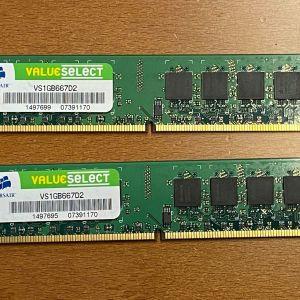 RAM Corsair 1GB