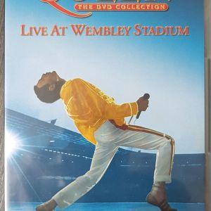 QUEEN - LIVE AT WEMBLEY STADIUM - DOUBLE DVD COLLECTION